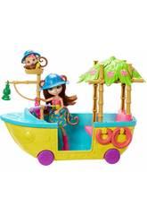 Enchantimals Barco Da Selva Mágica Mattel GFN58