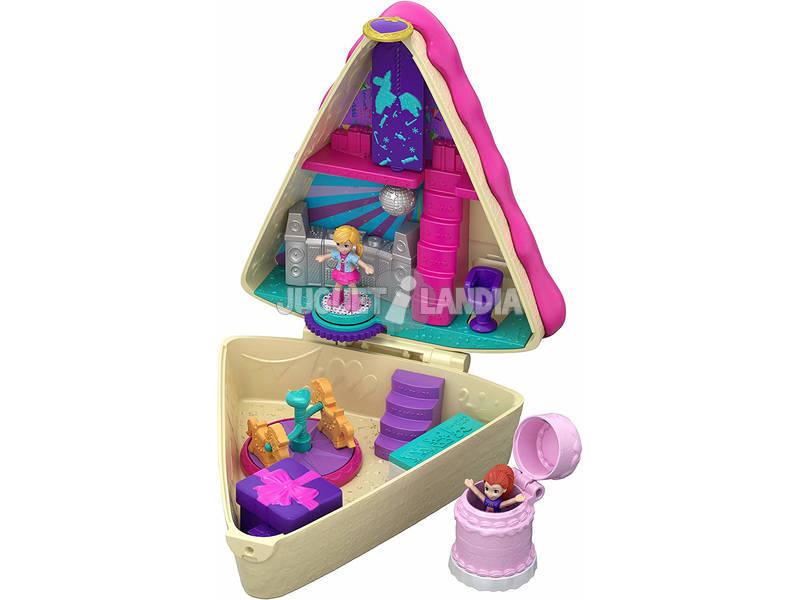 Polly Pocket Cofre Bolo De Aniversário Mattel GFM49