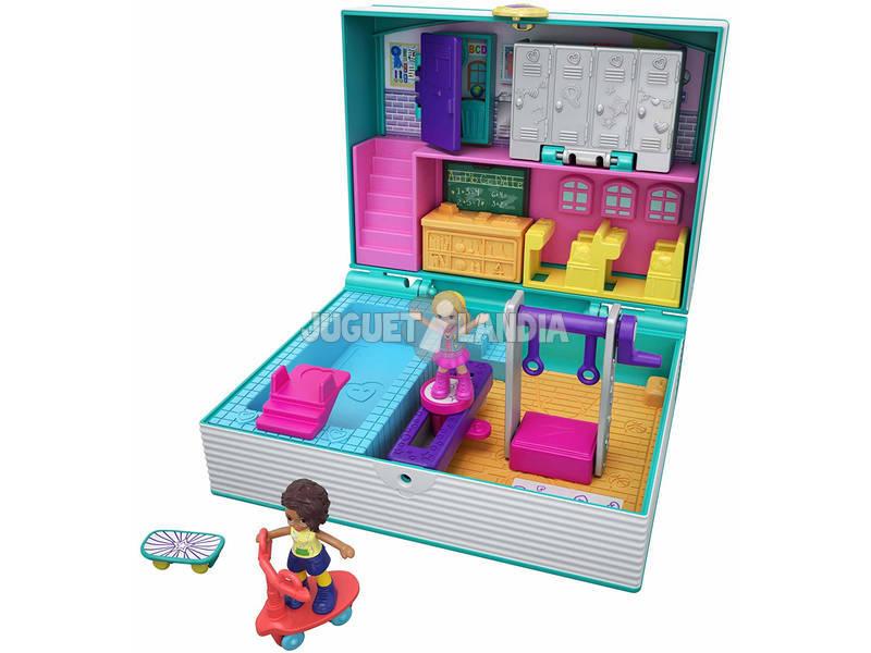 Polly Pocket Cofre Vamos Al Cole Mattel GFM48