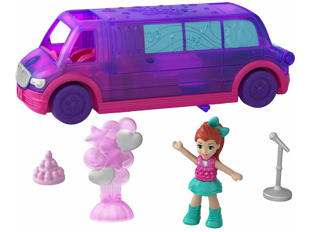 Polly Pocket Pollyville Limousine Mattel GGC41