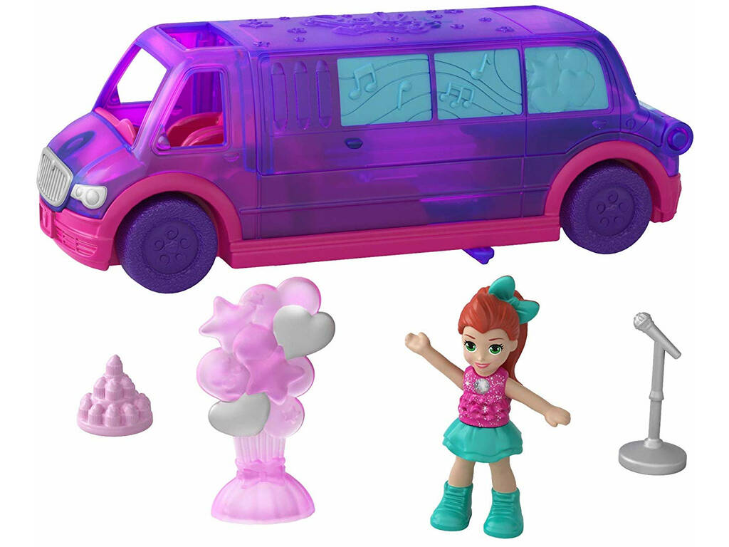 Polly Pocket Pollyville Limusina Mattel GGC41