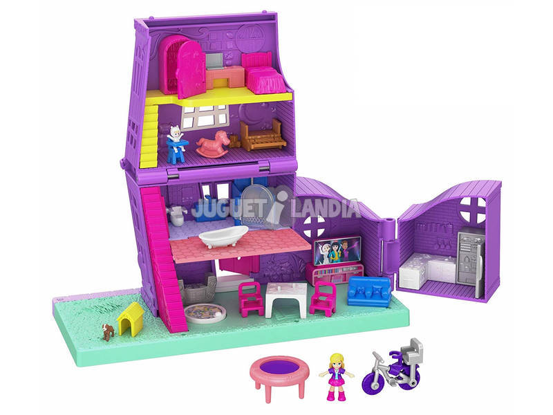 Polly Pocket Casa Di Pollyville Mattel GFP42