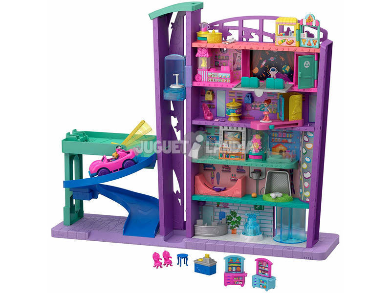 Polly Pocket Pollyville Shopping Center Mattel GFP89