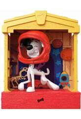 imagen 101 Dálmatas Casita Con Figura Mattel GBM26