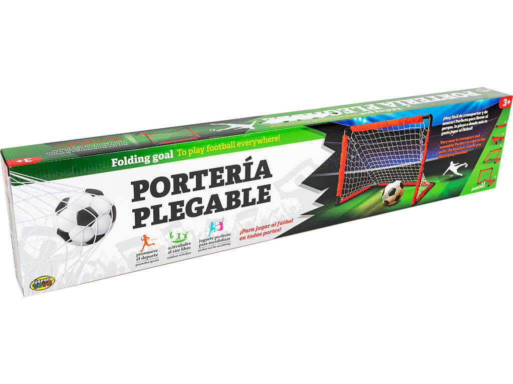 Porta Piegabile 84x81.5 cm. con Pallone