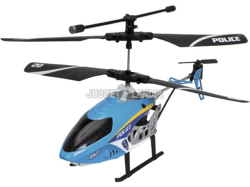 Radio Comando Helicóptero Police Squad World Brands XT280730