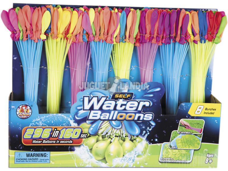 Set 3 Adattatori per Riempire Palloncini d'acqua con 296 palloncini