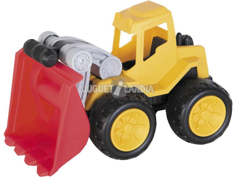 Veículo construção Pá Carregadora 22 cm.