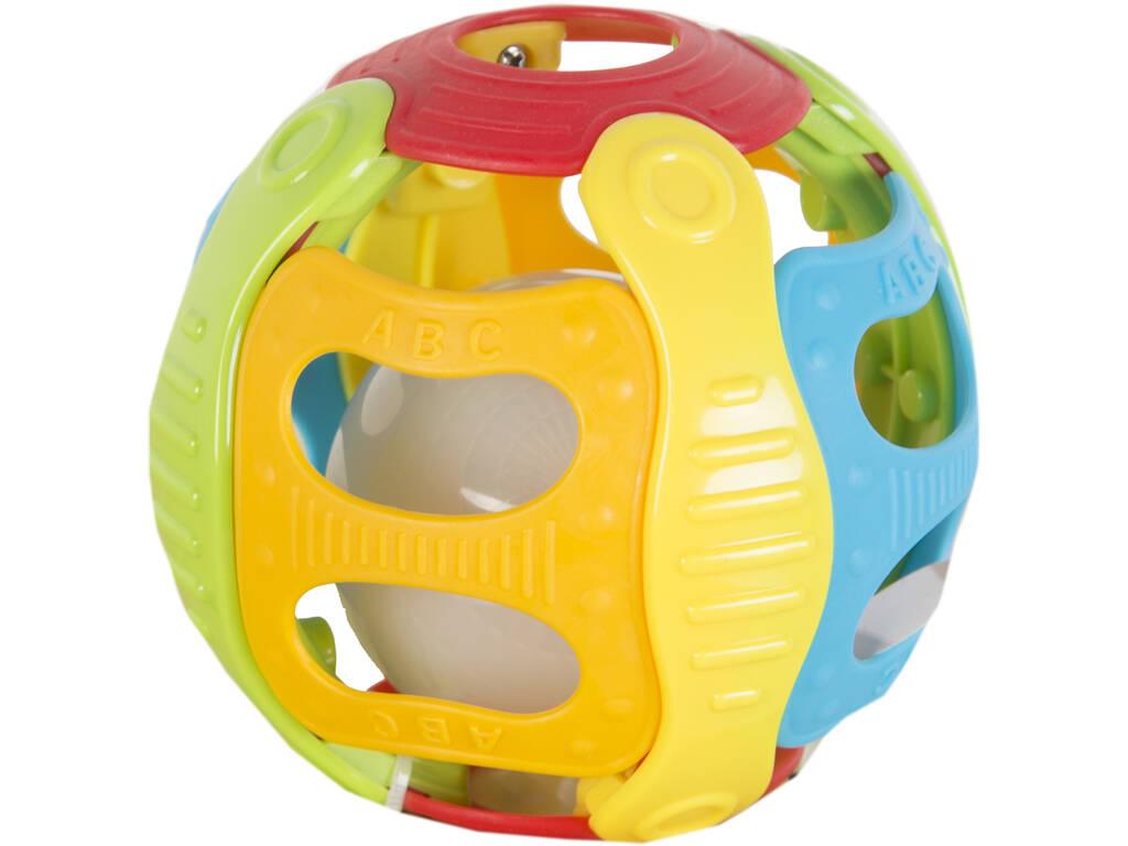 Bola Infantil Atividades 6 funções Com Luz