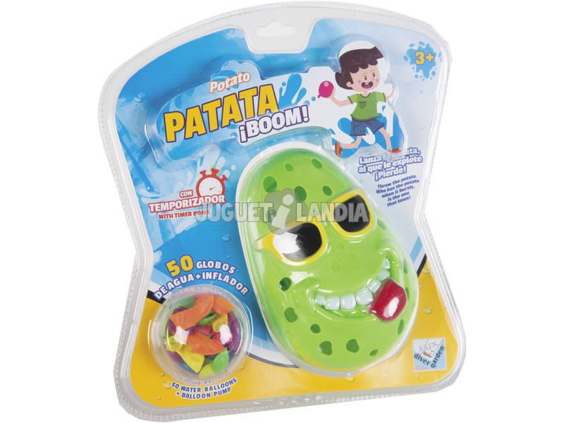 Patata Boom con 50 Globos de Agua