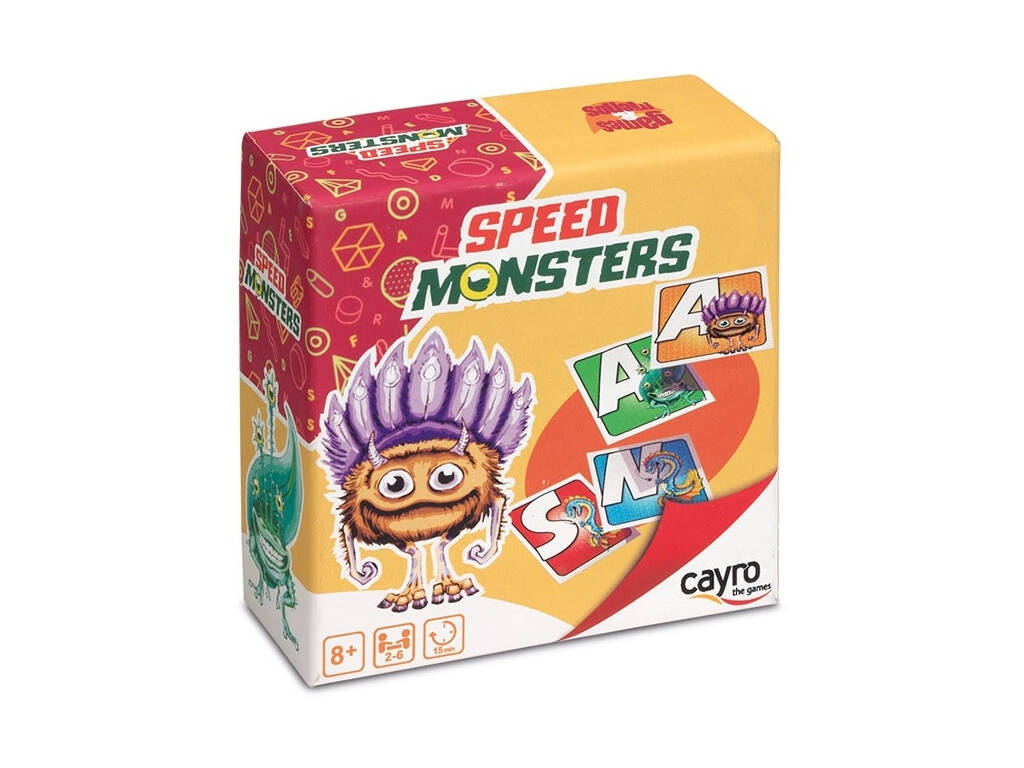 Jogo Speed Monsters Cayro 7018
