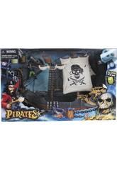 Barco Pirata con Figuras y Accesorios