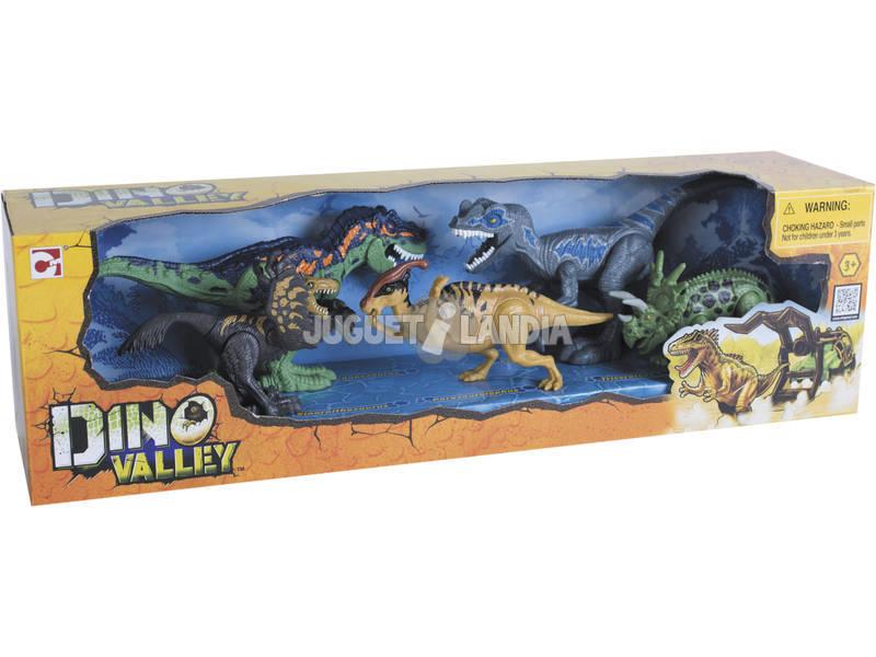 Set 5 Figuras Dinossauros