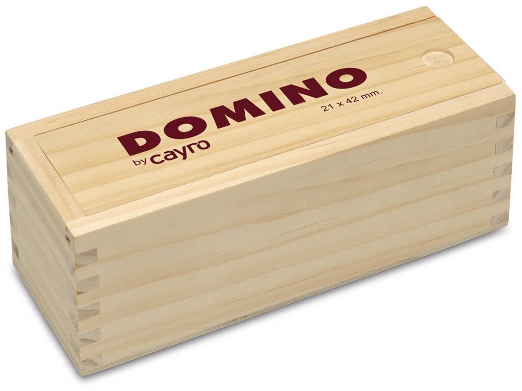 Domino Metacrilato Scatola Legno Cayro 243