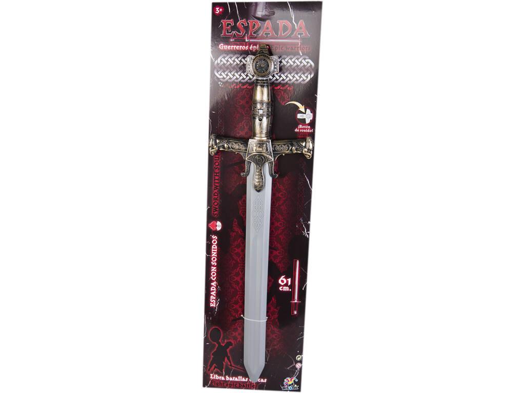Espada Guerreiros Épicos 61 cm. com Sons