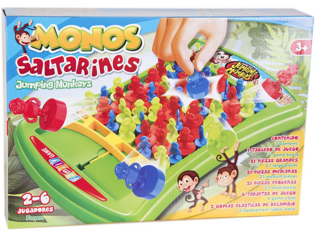 Jogo de tabuleiro de Macacos Saltitantes