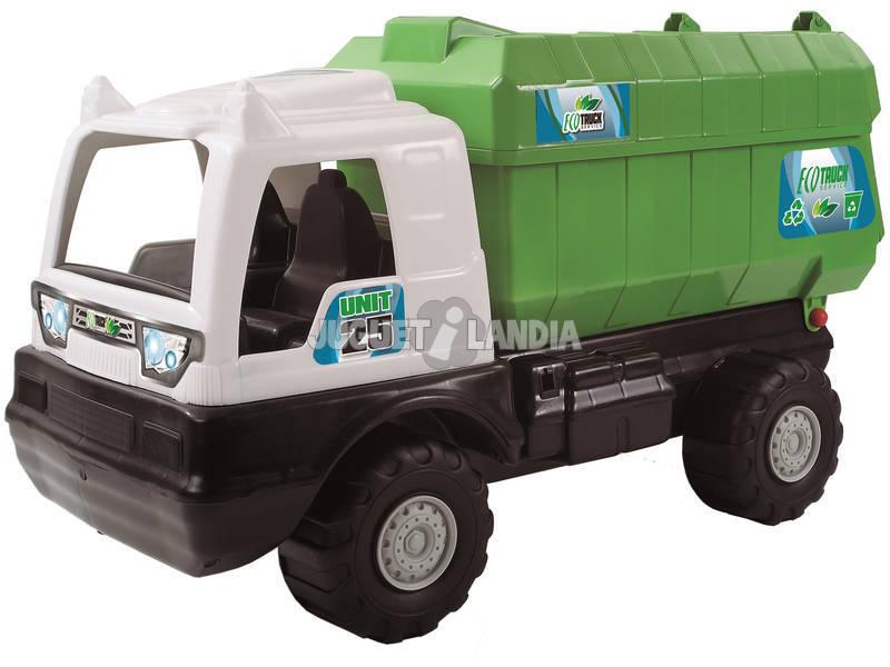 Camion Poubelle Eco Truck Vert AVC 5133