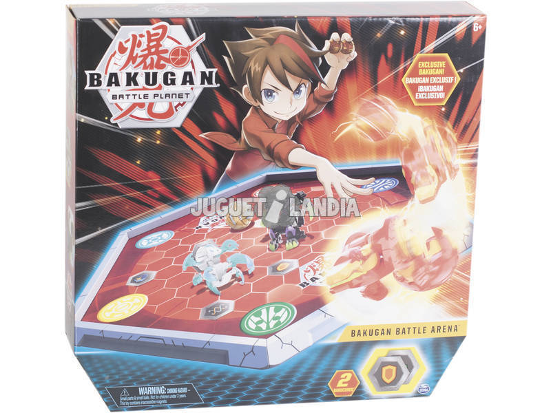 Bakugan Battle Arène Bizak 61924431