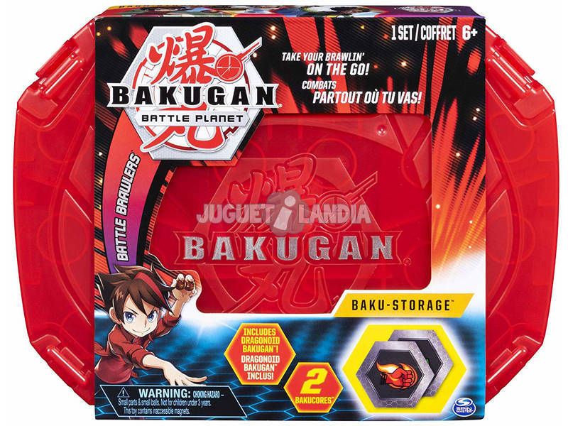 Bakugan Storage Case Bizak 6192 4430