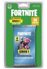 Fortnite Blister 4 Sobres Trading Cards Series 1 Panini 201012BLIE