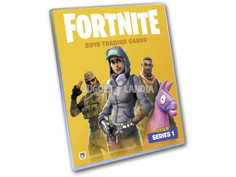 Fortnite Classeur Trading Cards Séries 1 Panini 201012AE48