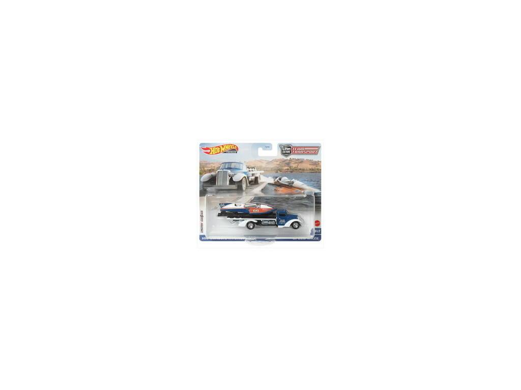 Hot Wheels Vehículo Team Transport Mattel FLF56