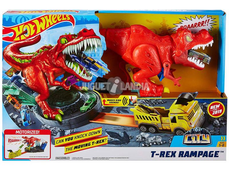 Hot Wheels T- Rex Rampage Mattel GFH