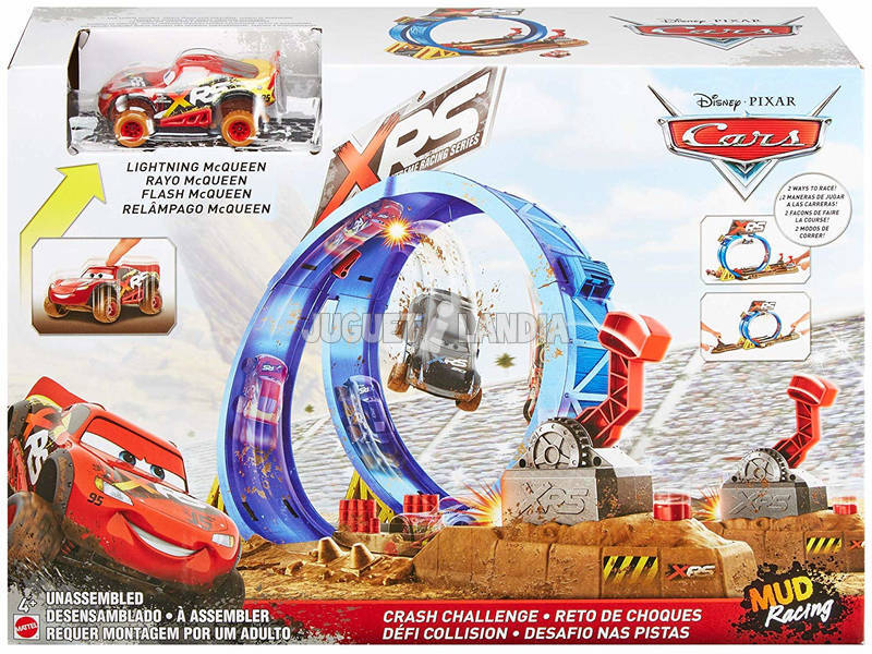 Cars Pista Superlooping Mattel FYN85