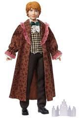 Harry Potter Muñeco Ron Weasley Baile de Navidad Mattel GFG15