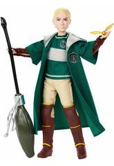 Harry Potter Muñeco Draco Malfoy Quidditch Mattel GDJ71
