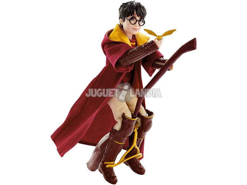 Harry Potter Muñeco Harry Potter Quidditch Mattel GDJ70