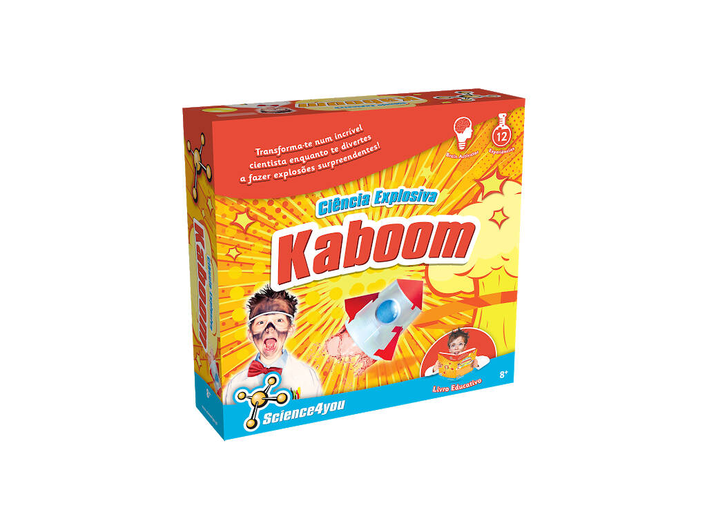 Kaboom Scienza Esplosiva n Portoghese Science4you 60865