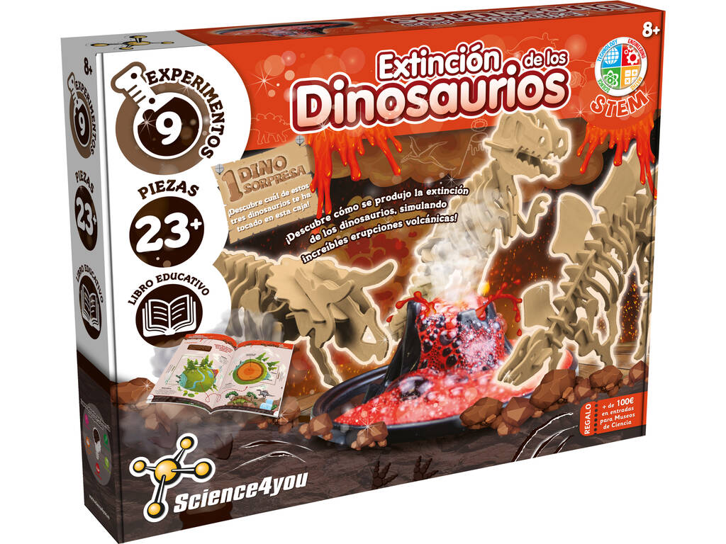 Extinção Dos Dinossauros Science4you 61506