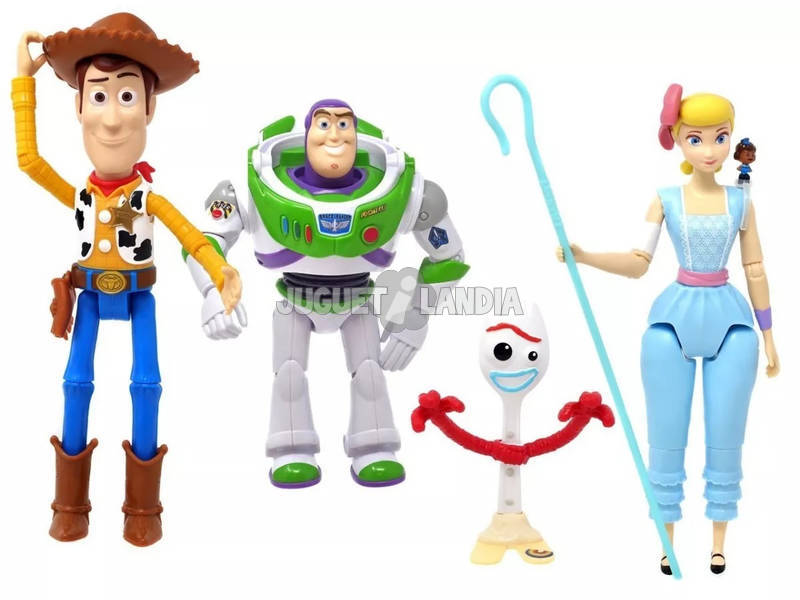 Toy Story 4 Pack 4 Figuras Básicas Mattel GHV24
