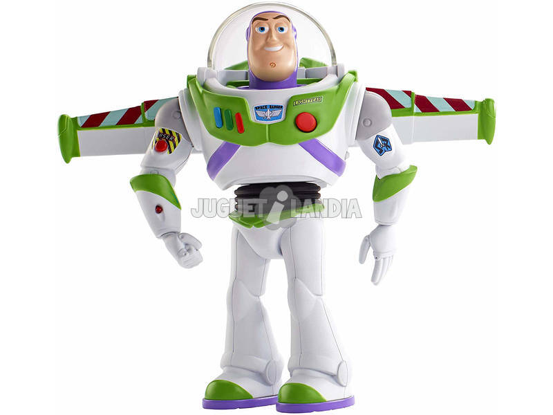 Toy Story 4 Buzz Lightyear Supergardien Marcheur Mattel GGH43