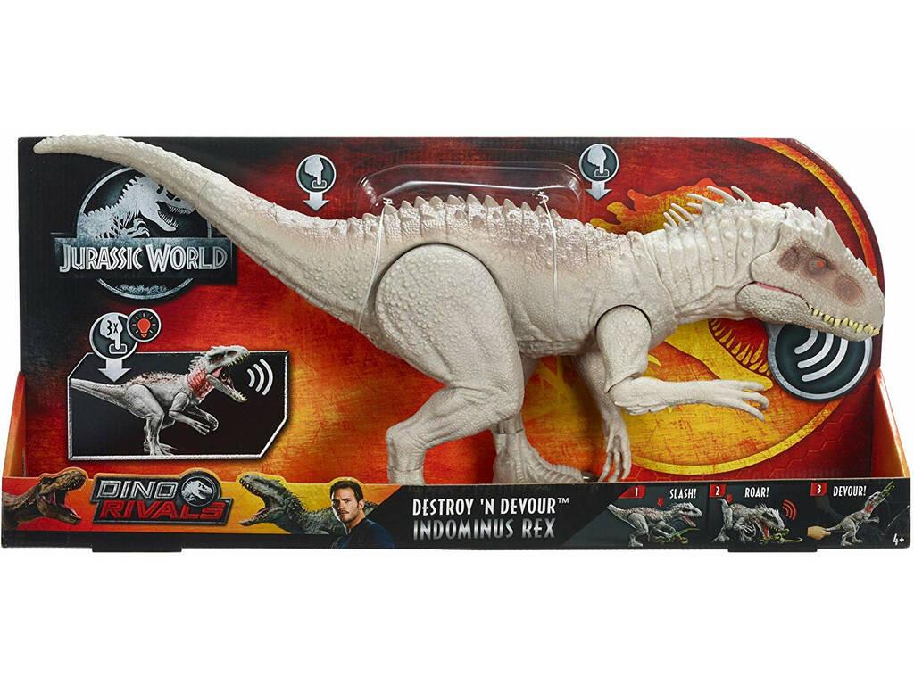 Jurassic World Indominus Rex Dino Destructor Mattel GCT95