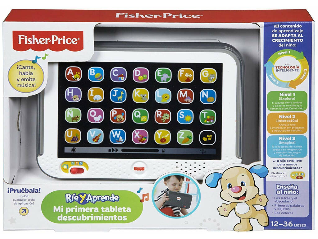 Fisher Price Mi Primera Tableta Descubrimientos Mattel CDG61