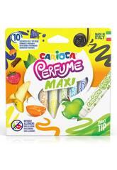 Rotulador Perfumado Maxi 10 Colores Carioca 42989