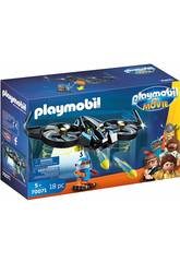 imagen Playmobil The Movie Robotitron con Dron 70071
