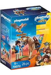 Playmobil The Movie Marla con Caballo 70072