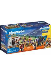 imagen Playmobil The Movie Charle con Carro Prisión 70073
