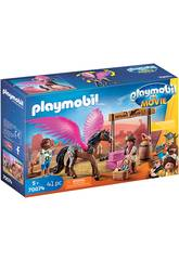 Playmobil The Movie Marla, Del y Caballo con Alas 70074