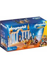imagen Playmobil The Movie Emperador Maximus en el Coliseo 70076