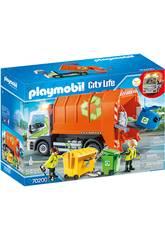Playmobil Voitures Ville Camion de Recyclage 70200