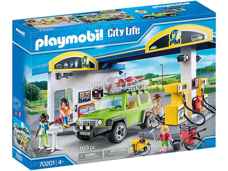 Playmobil City Life Stazione di servizio 70201