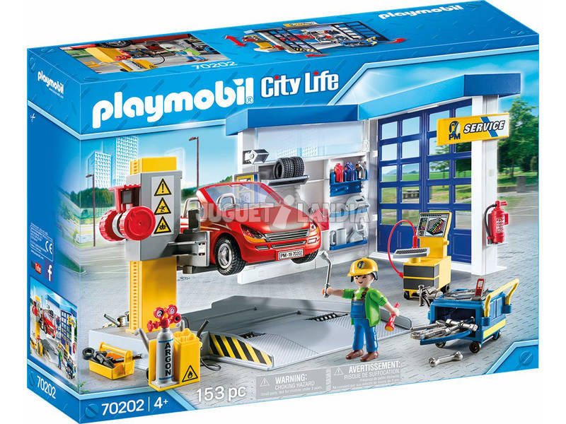 Playmobil City Life Garage de Voitures 70202