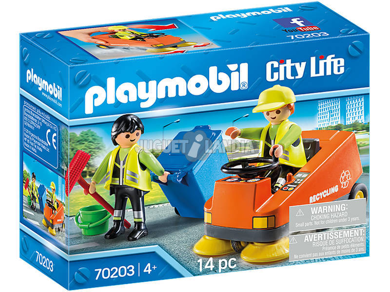 Playmobil City Life Pulizia Strade 70203