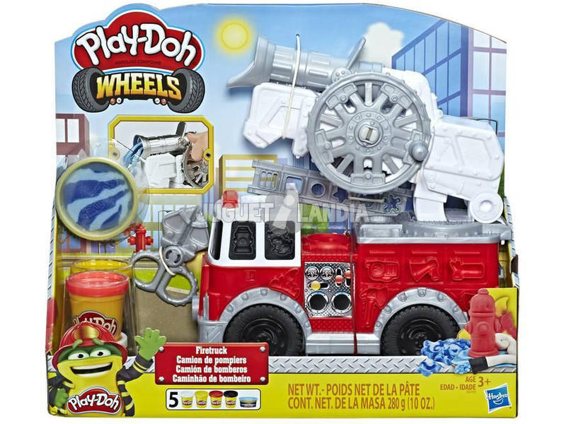 Playdoh Camion Dei Pompieri Hasbro E6103