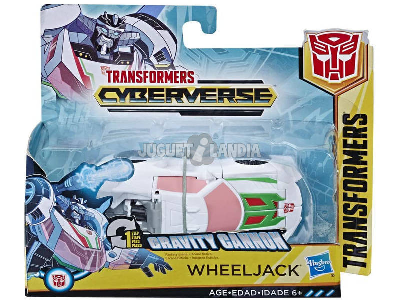 Transformers Cyberverse One Step Hasbro E3522EU6