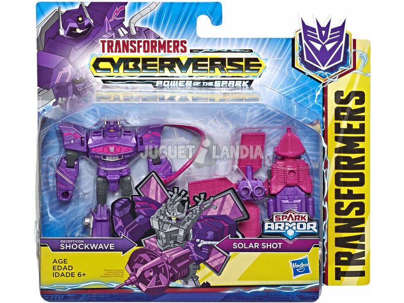Transformers Cyberverse Spark Armor Battle Hasbro E4219